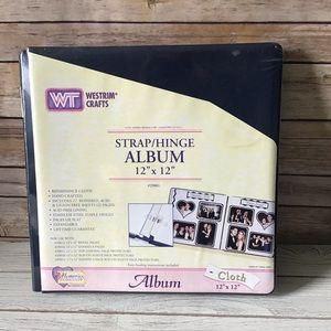 NEW 12x12 Navy Blue Westrim Album
